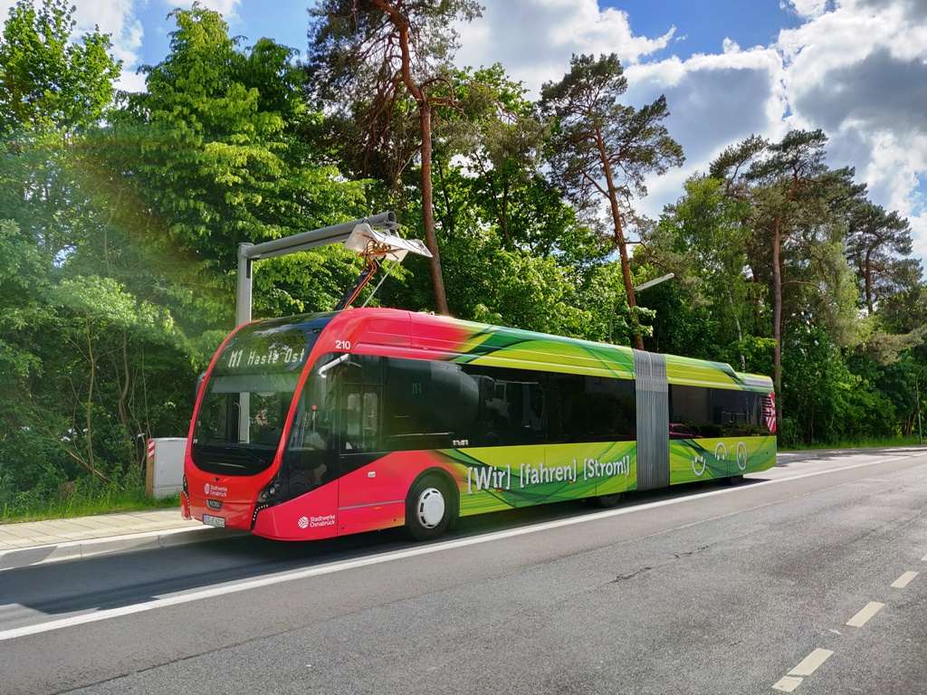Electric buses on all trunk routes in Osnabrück - Urban